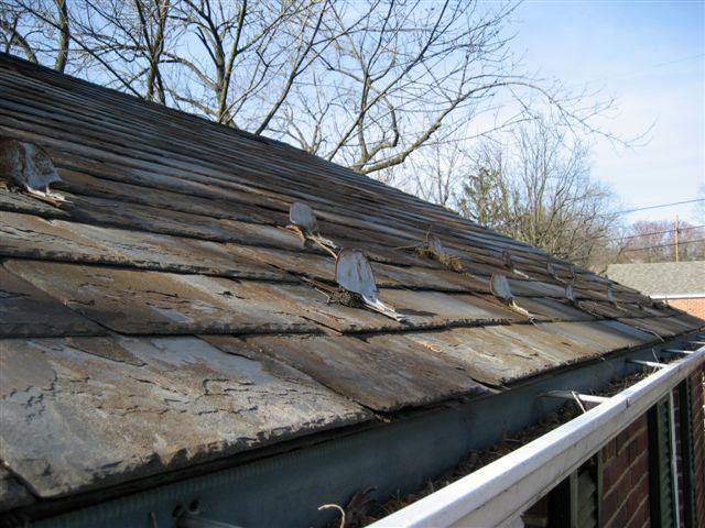 bangor slate roof c 1941