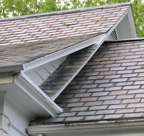 ridgecap--is that a layer of slate ridgecap under the galvanized metal?