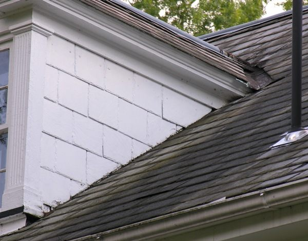 valleys on top and sides of dormers