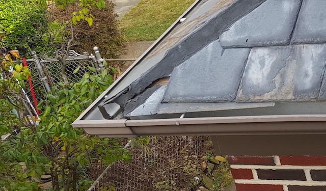 corner starter slate repair help