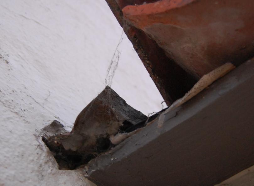 Bad kickout flashing on stucco